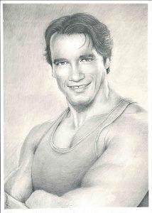 Arnold Schwarzenegger - Mr Golden Six ohjelman kehittäjä (kultainen kuusikko)