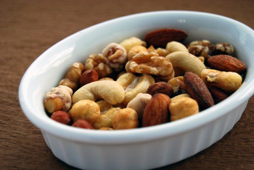 Pähkinöiden ravintoarvot