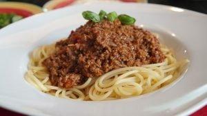 Spagetti pasta ravintoarvot ja terveellisyys
