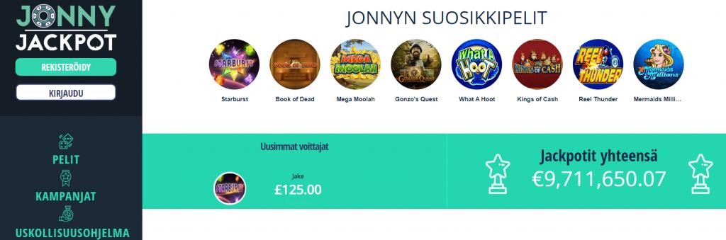 Jonny Jackpot Aula