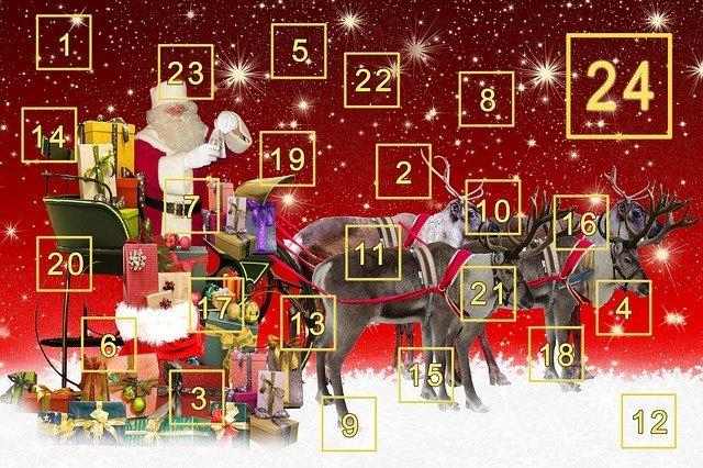 Toivottu joulukalenterimme on ilmestynyt!